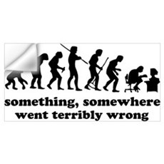 Something, somewhere went ter Wall Art Wall Decal