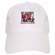 My Battle Too Brain Cancer Baseball Cap
