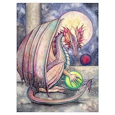 Dragon's Perch Wall Art Poster
