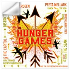 Hunger Games Gear Collective Wall Art Wall Decal
