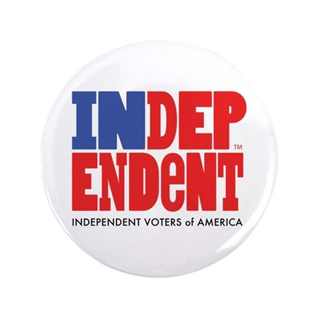 "Independent Voters of America 3.5"" Button"