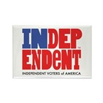 Independent Voters of America Rectangle Magnet
