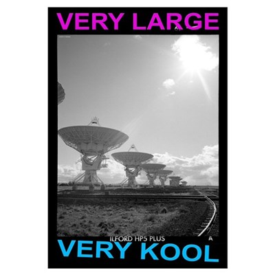 Very Large Very Kool Poster Framed Print