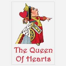 The Queen of Hearts Wall Art