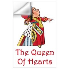 The Queen of Hearts Wall Art Wall Decal