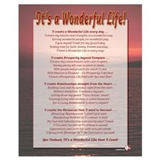 It's a Wonderful Life - ALL Wall Art Poster