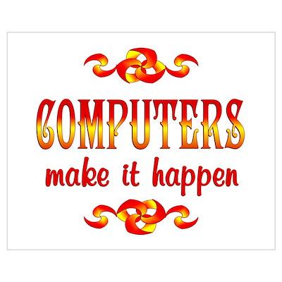 Computers Wall Art Poster