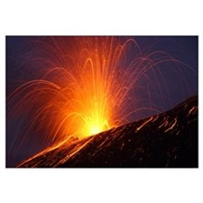 Vulcanian eruption of Anak Krakatau volcano, Sunda
