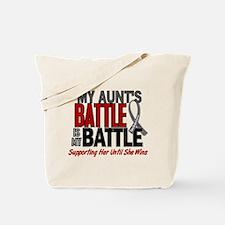My Battle Too Brain Cancer Tote Bag