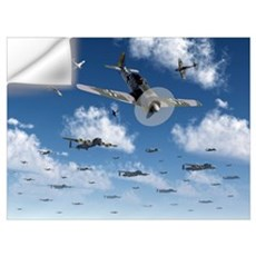 German Focke-Wulf 190 fighter aircraft attack Brit Wall Decal