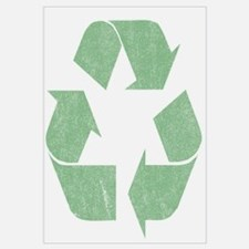 Vintage Recycle Logo Wall Art