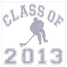 Class Of 2013 Hockey Wall Art Poster
