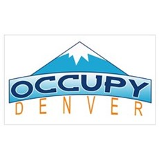 Occupy Denver Wall Art Poster