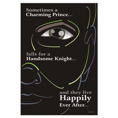 Happily Ever After 23x35 Poster Framed Print