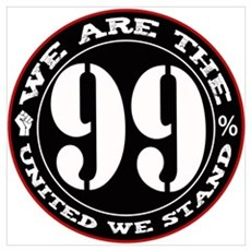 We Are The 99% United We Stan Wall Art Canvas Art