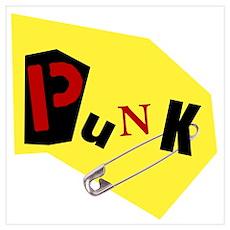 PUNK Wall Art Poster