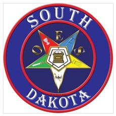 Order of the Eastern Star of South Dakota Mini Pos Poster
