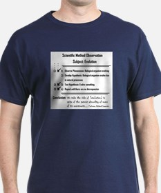 Scientific Method Test of Evo T-Shirt