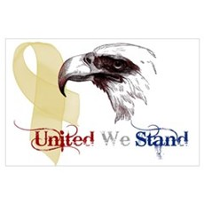 3D United We Stand Wall Art Poster