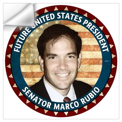 Future President Marco Rubio Wall Art Wall Decal