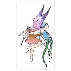 Butterfly Fairy (c) Wall Art Poster