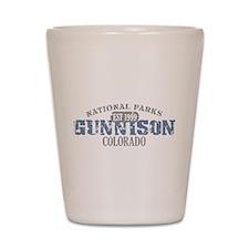 Gunnison National Park CO Shot Glass
