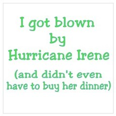 Blown by Irene Didn't Buy Dinner Wall Art Poster