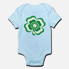 Stacked Shamrock Infant Bodysuit