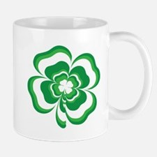 Stacked Shamrock Small Small Mug