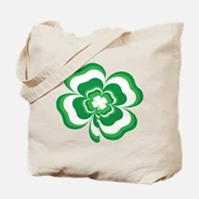 Stacked Shamrock Tote Bag