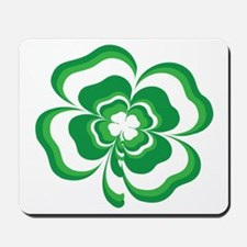 Stacked Shamrock Mousepad