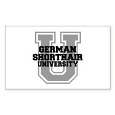 German Shorthair UNIVERSITY Decal