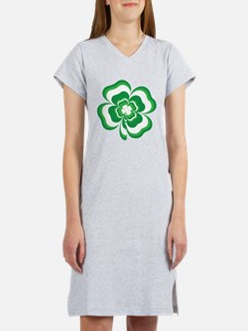 Stacked Shamrock Women's Nightshirt