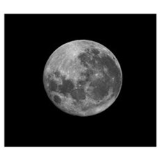 The supermoon of March 19, 2011 Canvas Art