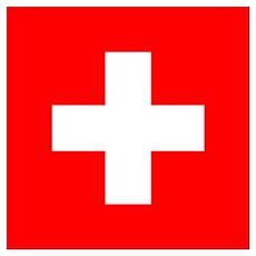 Flag of Switzerland Wall Art Poster