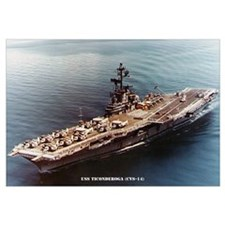USS TICONDEROGA Wall Art