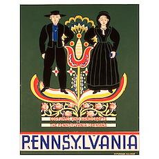 Pennsylvania Dutch Wall Art Poster