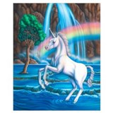 Unicorn Wrapped Canvas Art