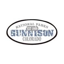 Gunnison National Park CO Patches