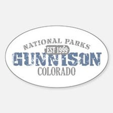Gunnison National Park CO Decal
