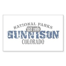 Gunnison National Park CO Decal