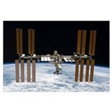 International space station Wrapped Canvas Art