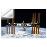 International space station Wall Decals