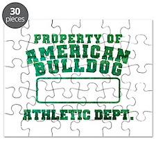 Property of American Bulldog Puzzle