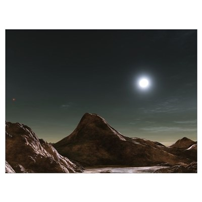 The binary star system Alcor Poster