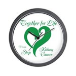 Stop Kidney Cancer Wall Clock