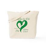 Stop Kidney Cancer Tote Bag