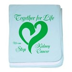 Stop Kidney Cancer baby blanket