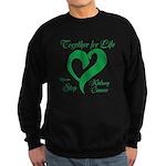 Stop Kidney Cancer Sweatshirt (dark)
