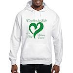 Stop Kidney Cancer Hooded Sweatshirt